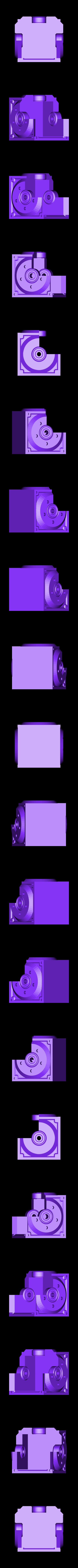 1x_Housing.stl Télécharger fichier STL gratuit Réducteur industriel à couple conique / Réducteur à engrenages (version en coupe) • Objet pour imprimante 3D, LarsRb