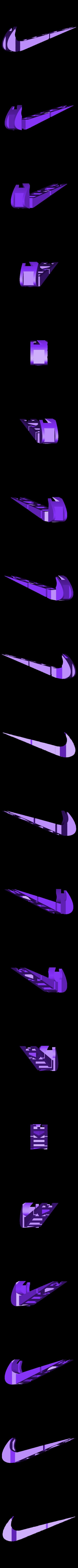 NIKE.stl Download STL file Text Flip, Nike • 3D print object, MrP023