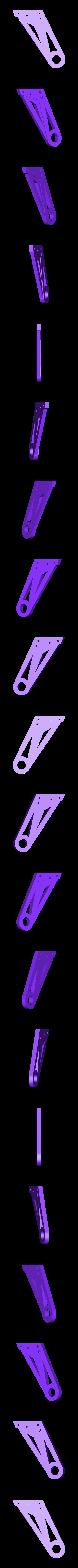 spool26left.stl Télécharger fichier STL gratuit Porte-bobine double-quad pour les modèles à coque CTC/flashforge/réplicateur WOOD. • Plan pour imprimante 3D, raffosan