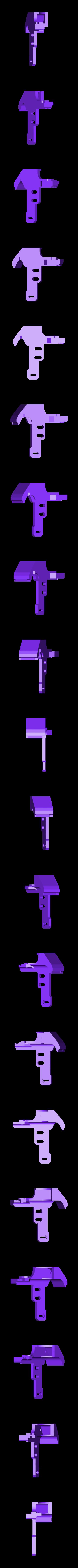 blowerright.stl Download free STL file CR10 direct heavy duty mod, titan + v5heatsink+volcano/ or / v6heatsink + pancake motor BETA • 3D print object, raffosan