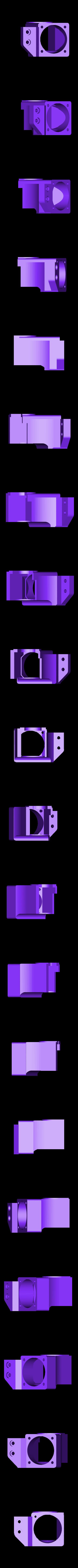 hotendfan30mmREV2.stl Download free STL file CR10 direct heavy duty mod, titan + v5heatsink+volcano/ or / v6heatsink + pancake motor BETA • 3D print object, raffosan