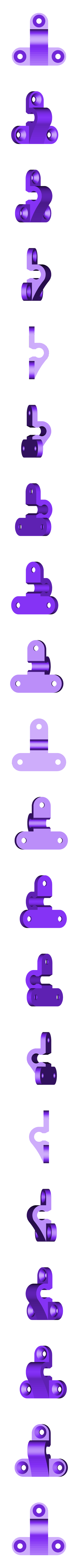 up2.stl Download free STL file Classic style hasp for boxes model 3 • Object to 3D print, raffosan