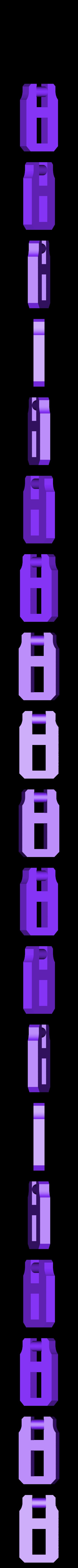 clip1.stl Télécharger fichier STL gratuit Moraillon de style classique pour boîtes modèle 2 • Modèle à imprimer en 3D, raffosan
