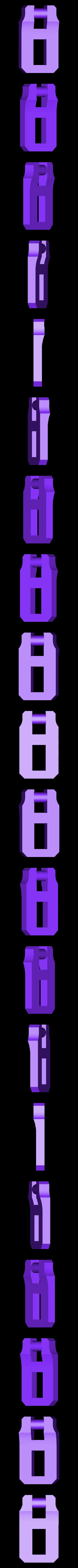 clip2.stl Télécharger fichier STL gratuit Moraillon de style classique pour boîtes modèle 2 • Modèle à imprimer en 3D, raffosan