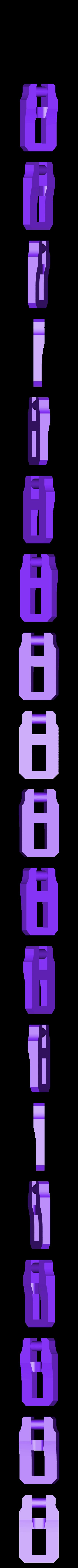 clip3.stl Télécharger fichier STL gratuit Moraillon de style classique pour boîtes modèle 2 • Modèle à imprimer en 3D, raffosan