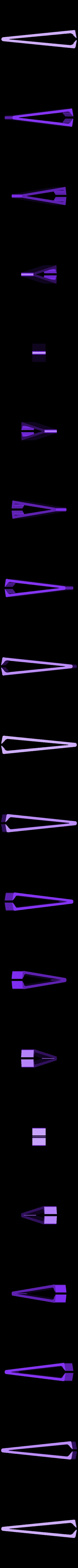 pince.stl Download free STL file pliers for removing splinters • 3D print design, YOHAN_3D