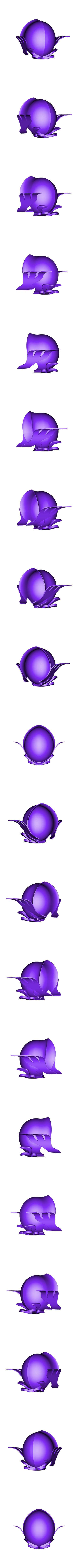 helmetV1.stl Download STL file Libra Armor Helmet // Libra myth cloth helmet • 3D print design, MLBdesign