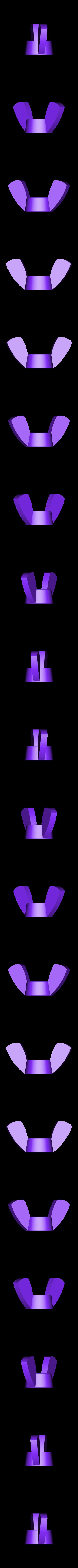 Nut-Butterfly-M4.STL Download free STL file SMD Soldering Clamp • 3D print model, perinski