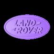 logo_ech_0.5_dome_green.STL Download free STL file Land Rover Logo Dome • 3D print object, lulu3Dbuilder