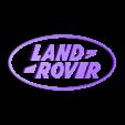 logo_ech_0.5_gold_letters.STL Download free STL file Land Rover Logo Dome • 3D print object, lulu3Dbuilder