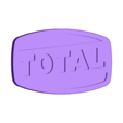 logo_TOTAL_63_corps_blanc.STL Download free STL file TOTAL logo 1963 • 3D printer object, lulu3Dbuilder