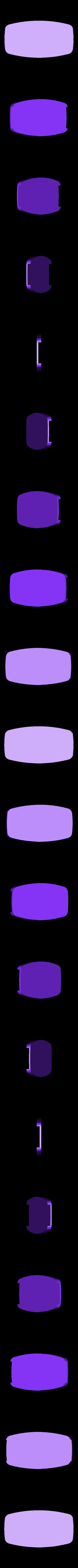 logo_TOTAL_70_cadre_bleu.STL Download free STL file TOTAL logo 1970 • Template to 3D print, lulu3Dbuilder