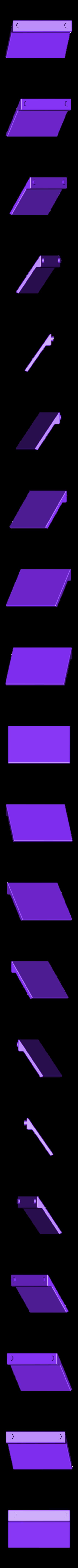 logo_TOTAL_70_pied_orange.STL Download free STL file TOTAL logo 1970 • Template to 3D print, lulu3Dbuilder