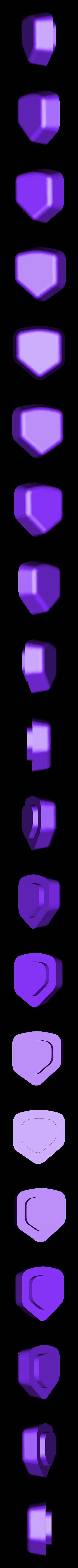 Banane_3D_2_tete_marron.STL Download free STL file Lulu's Banana box • 3D printing model, lulu3Dbuilder