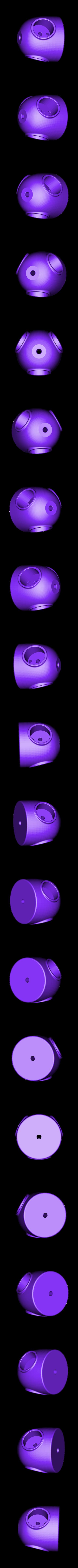 eolienne_2_cone.STL Download free STL file Eolienne Wind turbine • 3D printing model, lulu3Dbuilder