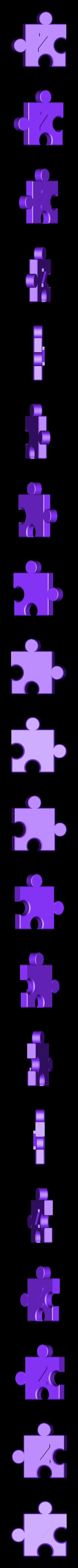 Z.stl Download free STL file Jigsaw Letters, English Alphabet • 3D printing design, LGBU