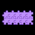 Blanks.stl Download free STL file Jigsaw Letters, English Alphabet • 3D printing design, LGBU