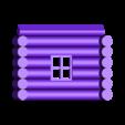 Side x2.stl Download STL file Wooden house • 3D print model, Fira