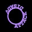 LRingAttackDisadv.stl Download STL file D&D Condition Rings • 3D printable design, Jinja