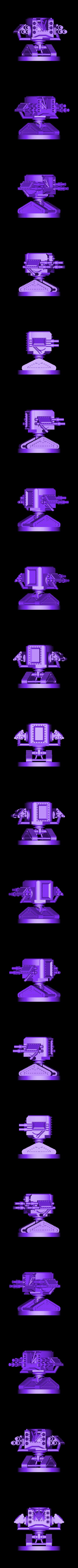 Scythe Tank Mech.stl Download STL file Scythe Tank Mech • 3D printing design, benwax10