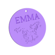chaval porte clés emma.stl Download STL file horse key ring Emma • 3D printer design, steph86160