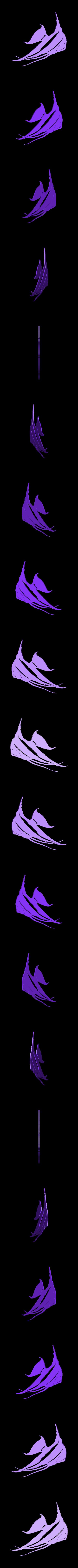 2_Angel_Single_1.stl Download STL file Angel fish wall art \ Decor • 3D printing object, 3dprintlines