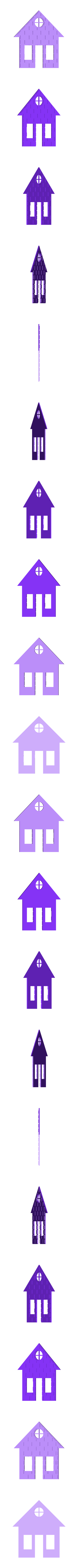 Side x2 Mirror.stl Download STL file Brick house • 3D printer template, Fira