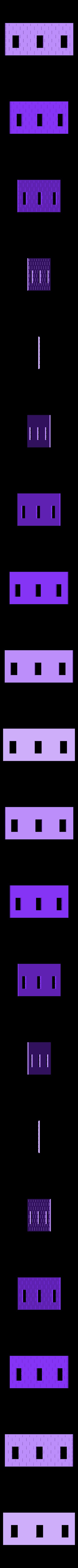 H2+MI.stl Download STL file Brick house • 3D printer template, Fira