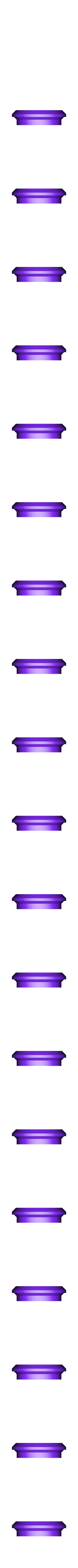 plateform_20mm_tube_cap.STL Download free STL file bungee launching plateform • 3D printing object, badassdrones
