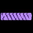 USB_cable_holder_Hexagon_cylinder_type.stl Télécharger fichier STL gratuit Support de câble USB (type cylindre hexagonal) • Objet à imprimer en 3D, EIKICHI