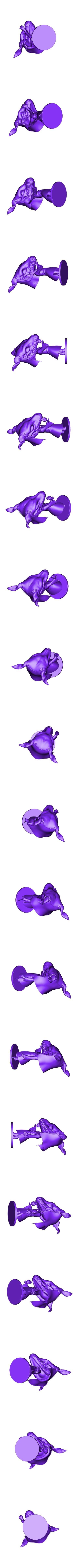 FullModel.stl Download STL file Elias Ainsworth Chibi figurine • 3D print design, Kownus
