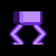 Planter4.stl Download free STL file Square Squatting Planter • 3D print object, benwax10