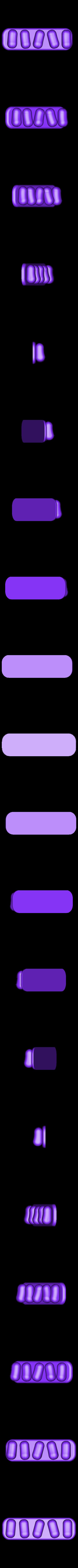 mame.stl Télécharger fichier STL gratuit Support de câble USB (série mame) • Plan à imprimer en 3D, EIKICHI