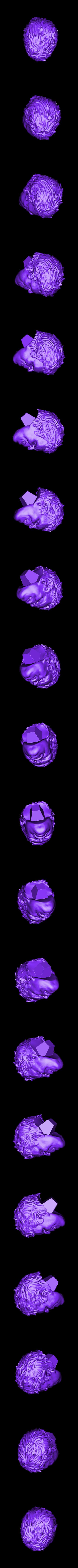 Head_300mm.stl Download STL file Hulk Angry - Super Hero - Marvel 3D print model • 3D print model, Bstar3Dart