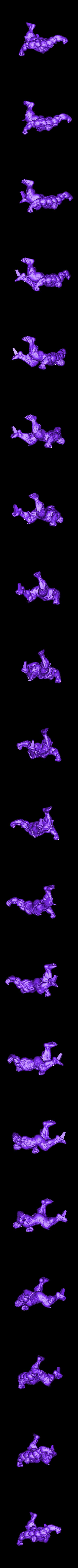 Hulk_Full_225mm.stl Download STL file Hulk Angry - Super Hero - Marvel 3D print model • 3D print model, Bstar3Dart