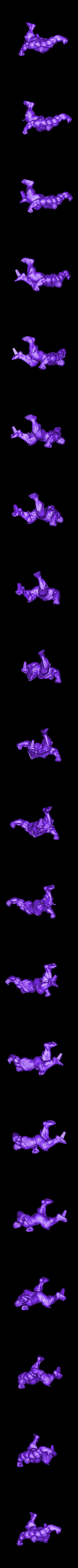 Hulk_Full_300mm.stl Download STL file Hulk Angry - Super Hero - Marvel 3D print model • 3D print model, Bstar3Dart