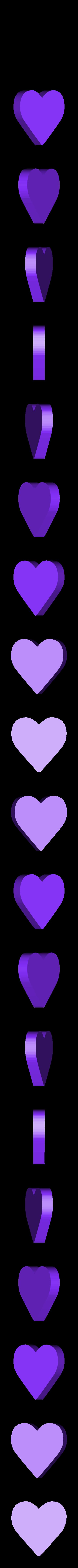 box-heart-top-s-001.stl Download free STL file Heart Shaped Box - Small • 3D printing template, GadgetPrint