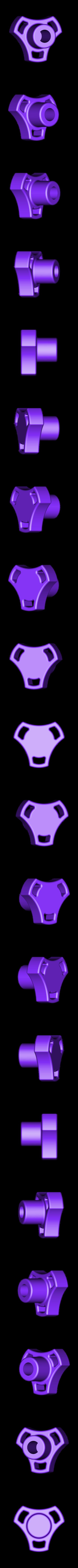 Knob_for_brocken_Clamp.STL Télécharger fichier STL gratuit Bouton pour collier de serrage cassé • Objet à imprimer en 3D, perinski