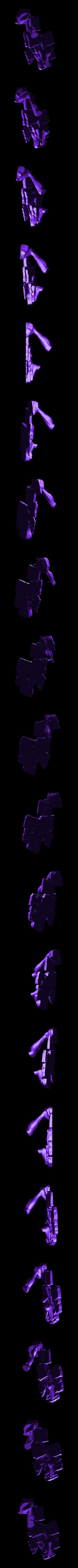 AoT_Final_base.stl Download free STL file Eren - Attack on Titan • 3D print model, mag-net