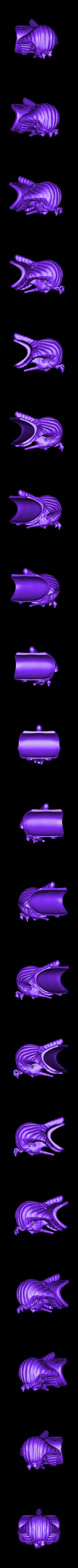 King_Tut.stl Télécharger fichier STL gratuit Roi d'Egypte Tut • Modèle pour impression 3D, quangdo1700