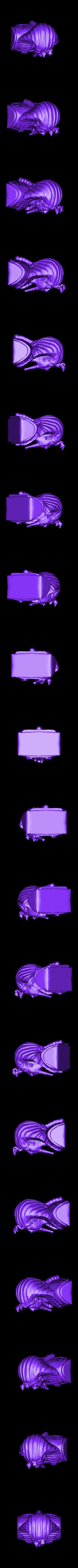 King_Tut-8.stl Télécharger fichier STL gratuit Roi d'Egypte Tut • Modèle pour impression 3D, quangdo1700