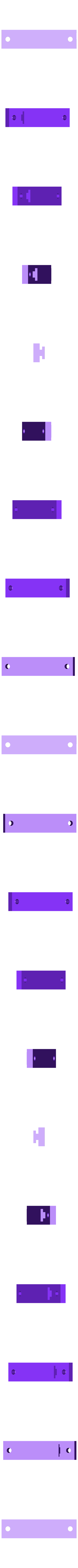 pièce JP.stl Download free STL file Baseboard mounting bracket (tube feet) • 3D printable template, diver2002