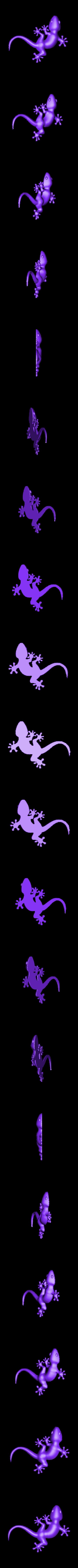 lezard3.stl Download free STL file gecko • 3D printer model, robinwood87cnc