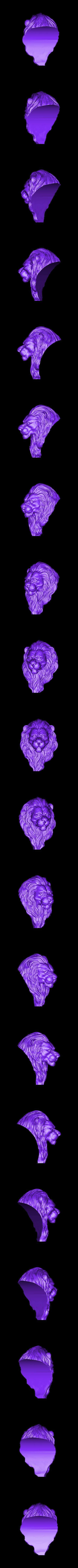 Lion.stl Download free OBJ file Lion • 3D printing model, Dynastinae