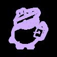 papa_pig_cut.stl Download STL file papa pig mama pig cut • 3D print template, Blop3D