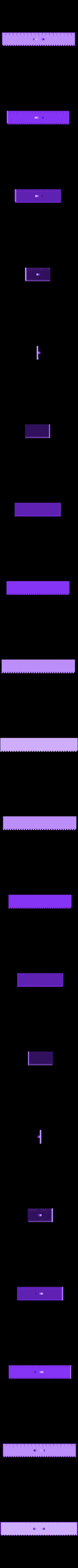 Règle.stl Télécharger fichier STL gratuit Règle 20 cm • Design à imprimer en 3D, david75310