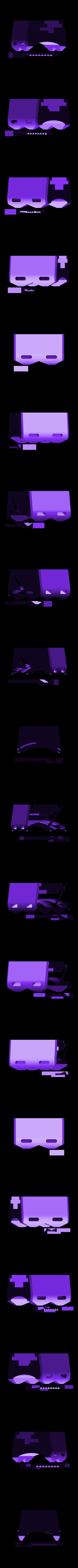base.stl Télécharger fichier STL gratuit Support de tige de vélo Snap-fit pour Anker PowerCore 5000 / PowerCore+ mini • Design imprimable en 3D, CyberCyclist