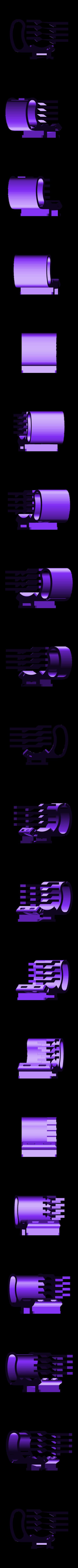 adapter_pcmini_bundler.stl Télécharger fichier STL gratuit Support de tige de vélo Snap-fit pour Anker PowerCore 5000 / PowerCore+ mini • Design imprimable en 3D, CyberCyclist