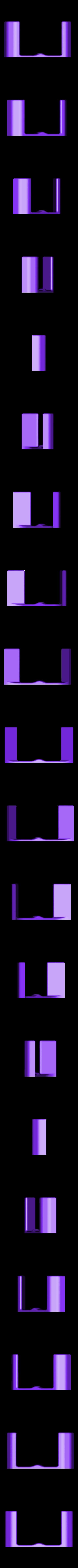 QuadHookLong.stl Download free STL file Generic Quadcopter Wall Hook • 3D printer design, roguemat