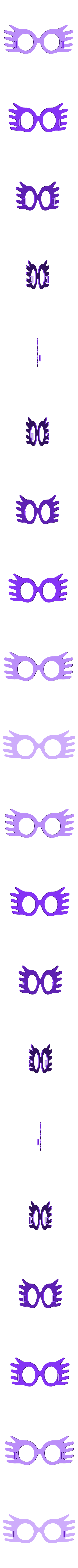 luna_lovegood_glasses_frame.stl Download free STL file Luna Lovegood SpectreSpecs • 3D printer template, mark579